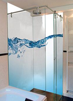 Duschwand Mit Motiv. duschwand badezimmer wandbild fliesenersatz dusche rueckwand mit motiv ...